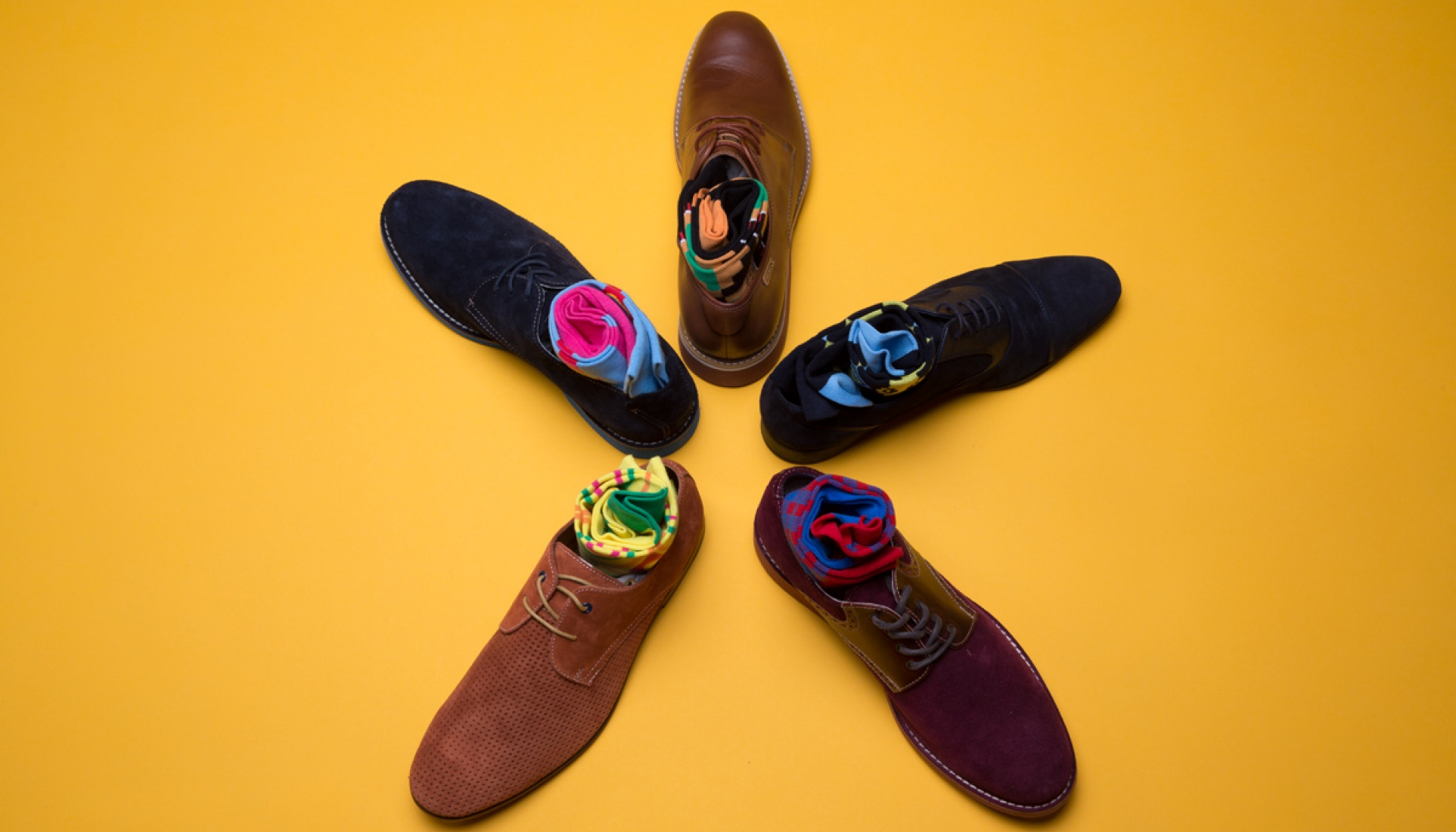 Coptic Soles - Mens Colorful Socks with a storyline