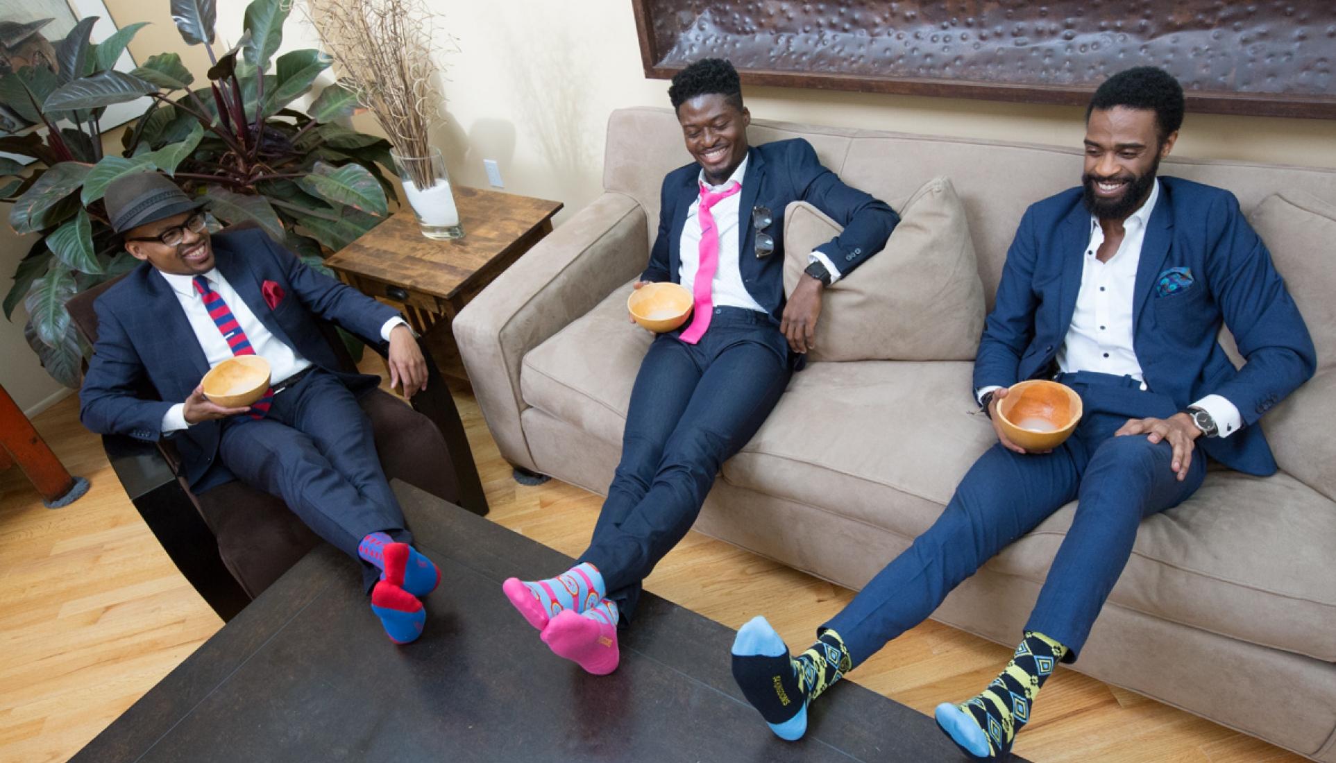 Mens colorful socks 54kingdoms coptic soles lifestyle