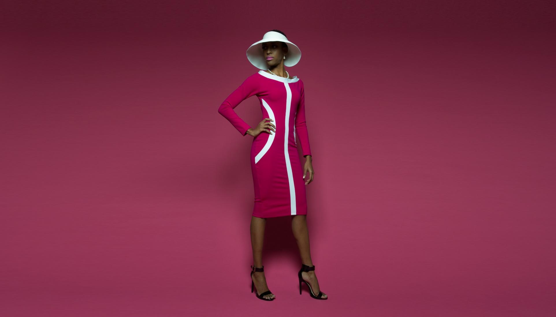 54 Kingdoms Maasai Long Sleeve Dress